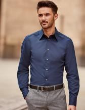 Men`s Long Sleeve Tencel® Fitted Shirt